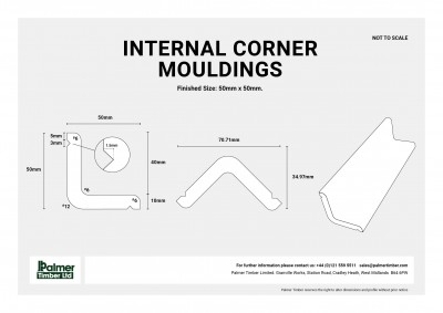 Internal Corner Moulding